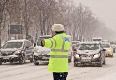 Situația traficului. Pe ce drumuri se circulă în condiții de iarnă