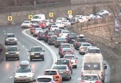 Minivacanţa de 1 Decembrie se apropie de final: Trafic îngreunat pe DN1, pe sensul către Bucureşti