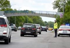 Circulaţie întreruptă pe DN1 pe sensul către Ploieşti din cauza unui accident rutier