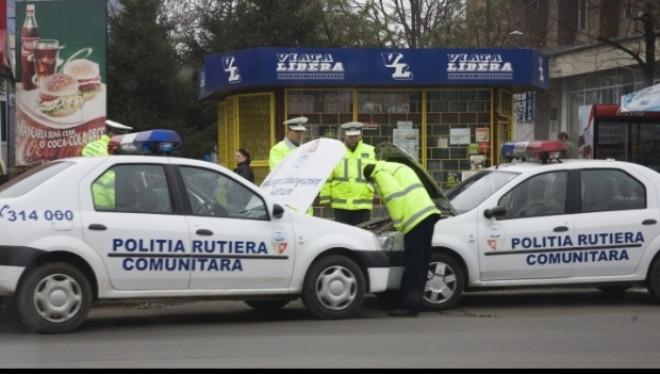 Cod rutier schimbat: Poliţia locală va putea da amenzi rutiere