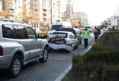 Accident in Ploiesti, in zona Caraiman. Trei masini implicate
