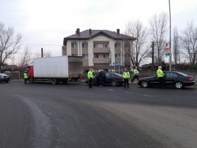 Filtru al poliției pe DN 1 A în această dimineață. Trei soferi au ramas fara permis, pentru conducere sub influenta alcoolului