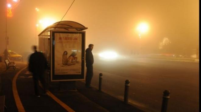 Atentie, soferi! COD GALBEN de ceaţă in Prahova