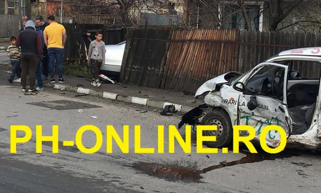 Accident cu trei masini in Ploiesti, in Bereasca. O victima