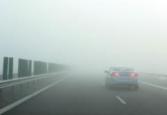 Cod galben de ceaţă în Prahova si alte 9 judeţe