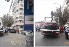Polițiștii locali acționează pentru prevenirea blocării benzilor de circulație