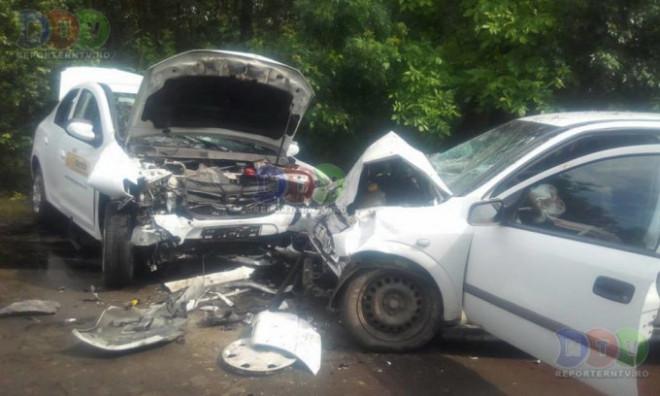Accident pe strada Gageni din Ploiesti. O femeie a fost transportata la spital