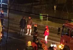Accident grav pe str. Democratiei, zona Muzicanti. Un biciclist a fost lovit de masina