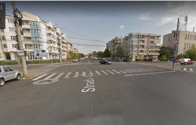 Accident in Ploiesti, zona Pietei Anton