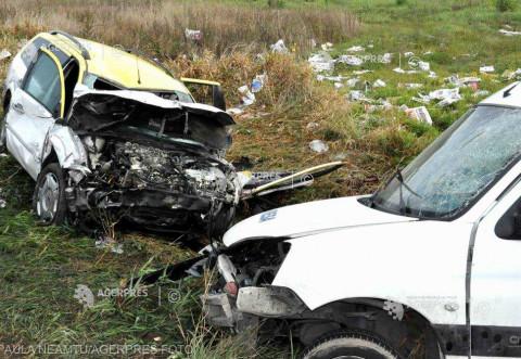 Şase răniţi într-un accident pe DN 1, în zona de nord a Ploieştiului