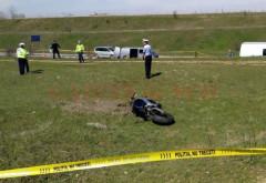 IMAGINI ȘOCANTE Un motociclist a fost DECAPITAT, în timp ce mergea pe un drum de centura