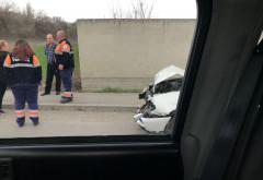Accident cu doua masini in Bucov. Printre victime se aflau si doi copii