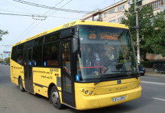 Incident in autobuzul 35, pe strada Trei Ierarhi. Doi pasageri, raniti dupa ce soferul a franat brusc