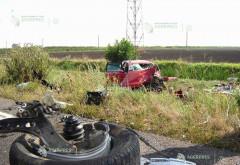 Accident in Prahova, pe DN 1D Ploiesti-Urziceni