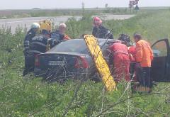 FOTO/VIDEO Accident grav pe DN 1D, in Prahova. Victime incarcerate