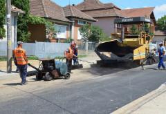 Incepe asfaltarea pe strada Rudului. Vezi aici tronsoanele