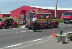Accident in Cioranii de Sus. Doua victime, intervin echipaje SMURD