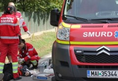 Accident in Bariera Bucuresti. S-a cerut interventia SMURD