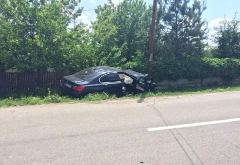 Accident grav la Tatarani, zona Interhome. A fost chemata Ambulanta SMURD