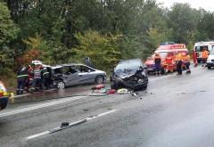 Accident cu doua masini in padurea de la Paulesti. Doua femei au fost ranite