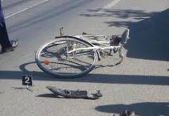 Accident pe Bulevard, in Ploiesti. Biciclist, lovit de masina
