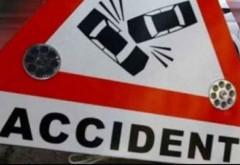 Accident in Ploiesti, pe Udriste Nasturel. O masina a intrat intr-un stalp