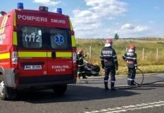 Accident rutier pe DN 1: O persoană a murit, iar alta a fost rănită