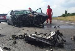 Accident pe DN1, la Baicoi. Un echipaj de la DESCARCERARE solicitat sa intervina