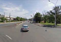 Accident in Bariera Bucuresti, langa Rompetrol. Un pieton a fost lovit, pe trecere