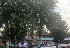 Accident pe Cantacuzino, zona Torcatori