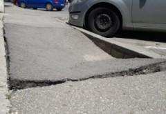 Pe str. Maramures, trotuarul e facut din blat de tort? Primaria, solicitata sa intervina