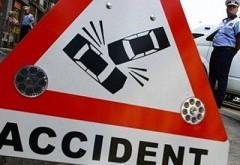 Accident pe Soseaua Vestului, langa Hotel Nord. Circulatia tramvaielor, restrictionata pe ambele sensuri
