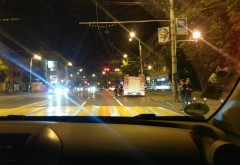 VIDEO/ Accident joi seara, pe Bulevardul Independentei, langa LMV. 4 masini implicate