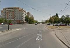 Accident pe Soseaua Vestului, la intersectia cu str. Domnisori. Doua minore, lovite de masina pe trecere