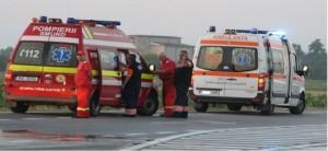 Accident pe DN1, la Baicoi. Patru masini implicate, intervine SMURD