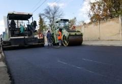 Atentie, soferi! Incep asfaltãrile pe strada Malu Rosu, tronsonul dintre strazile Traian si Podul Inalt