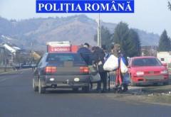 Taximetrie ilegală, depistată de polițiștii rutieri pe ruta Ploiești-Bucov-Pleașa