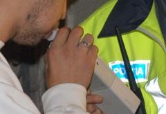 Actiune de amploare a politistilor rutieri. 100 de soferi, testati cu aparatul etilotest