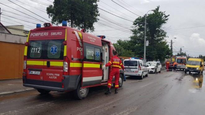 Accident In Prahova, la Magurele. Doua masini implicate, o victima