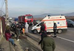 Accident grav in Breaza, cartier Nistoresti. Doua victime