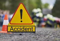 Doua accidente in decurs de cateva minute, in Prahova. Victime, un pieton si un biciclist