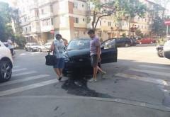 Accident in Ploiesti, la intersectia strazilor Dimitrie Bolintineanu cu Negru Voda. Doi copii au ajuns la spital