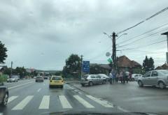 Accident in Bucov. Trei masini implicate
