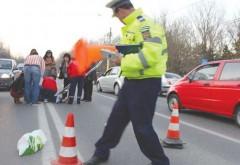 Batrana lovita de masina in Ploiesti, pe strada Cantacuzino