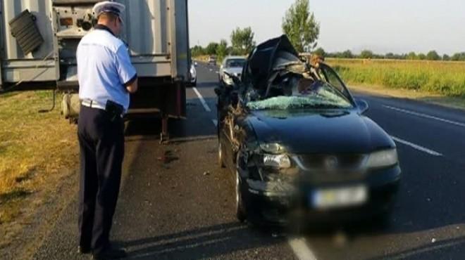 Accident la Valea Calugareasca. Un sofer neatent a intrat cu masina intr-un autoturism parcat