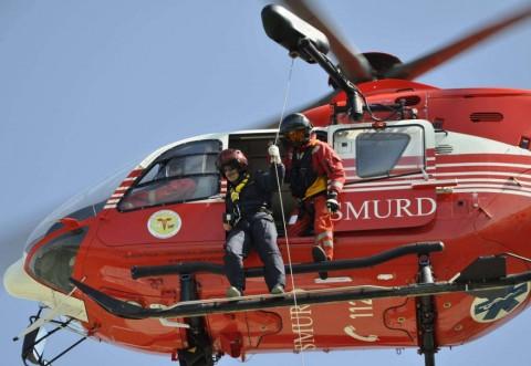 Accident grav in Ciorani. Intervine elicopterul SMURD