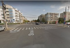 Accident pe str. Democratiei, la intersectia cu Lupeni. Circulatia tramvaielor, BLOCATA