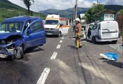 Accident pe DN1, la Comarnic. O persoana, transportata de urgenta la spital