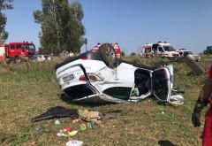 Accident mortal in Prahova, in comuna Draganesti. O femeie a murit, iar alta este grav ranita
