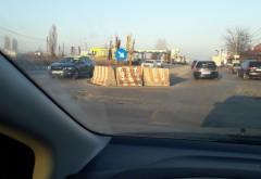 Atentie, soferi! Incep lucrarile de asfaltare la intersectia Strandului-DN1A